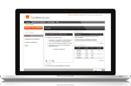 Orange conference pro
