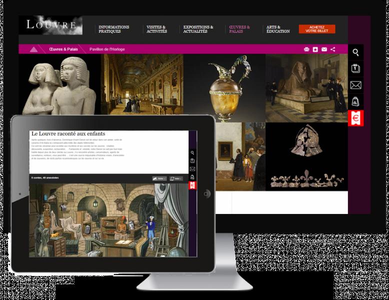 Site du Musée du Louvre