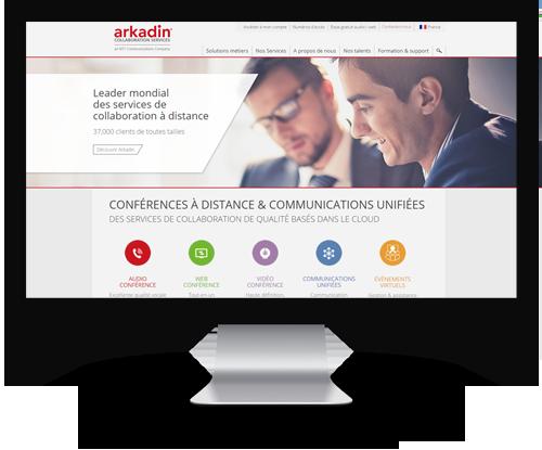 Site arkadin.fr